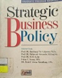 Image of Strategic Business Policy